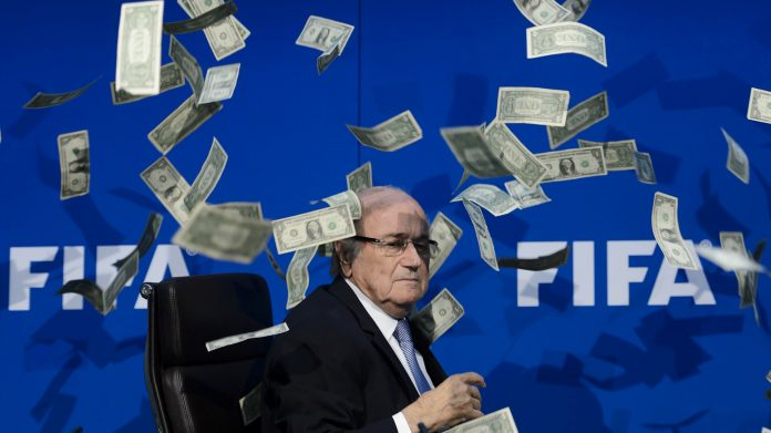 Joseph Blatter ridiculizado