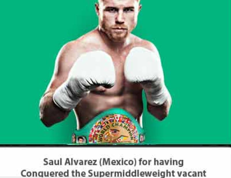 "Saúl ""Canelo"" Álvarez, designado mejor boxeador de diciembre de 2020"