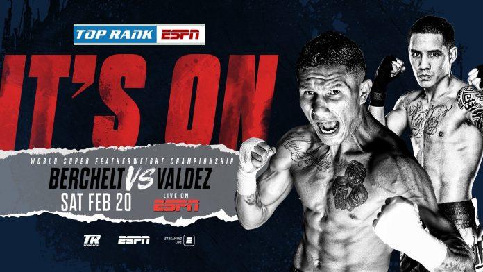Berchelt y Óscar Valdez chocarán el 20 de febrero en Las Vegas